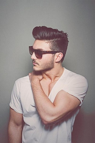 Cool Men Haircut Styles for Short Hair : Shaved Hair