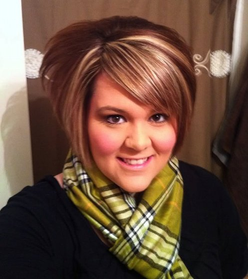 Cute short hairstyles for fat women