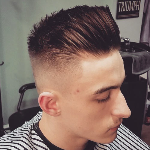 Cool Men Haircut Styles Shaved Hair 2015