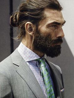 Man Bun For Office Purpose