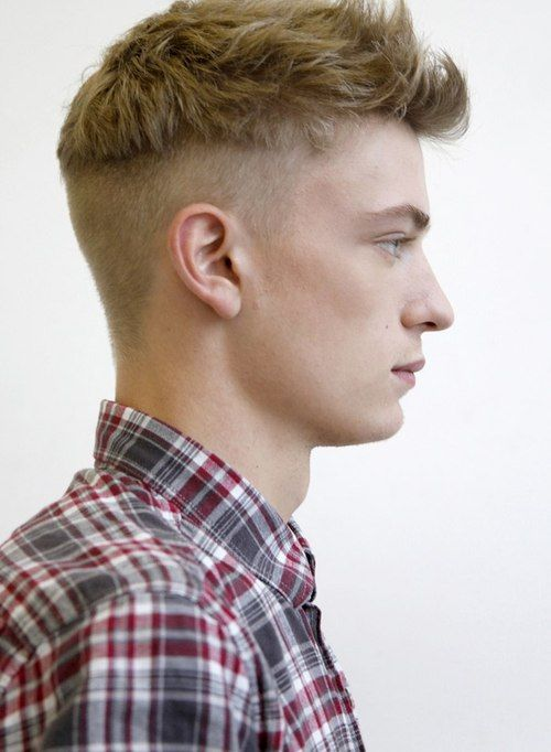 Mens Medium Haircuts On The Top With Semi Mohawk Latest