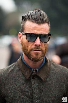 Mens medium hair styles