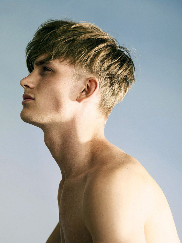 Popular Mens Hairstyles With Short Side Long On Top Latest Hair