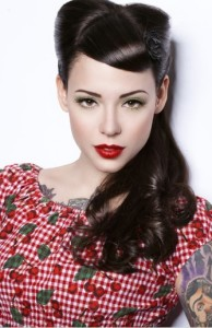 rockabilly hairstyle 1940s
