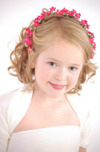 Cute Flower Girl Hairstyles 11
