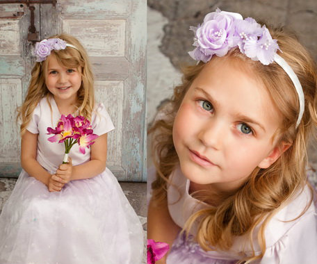 Cute Flower Girl Hairstyles 9