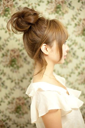 Cute Korean Girl Hairstyle Pictures 2015