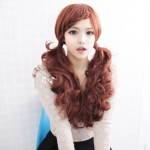 Latest Korean Girl Hairstyles - Lolita Ponytail
