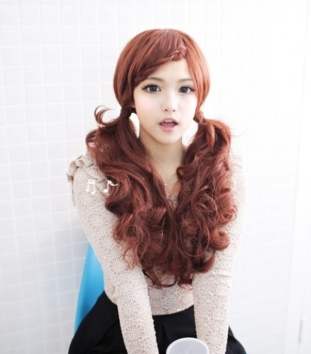 Latest Korean Girl Hairstyles Lolita Ponytail Latest