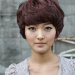 Korean Hairstyle for girls - Pixie Shag