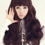 Korean female hairstyle - The Baby Doll