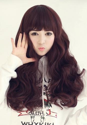 Pleasant Korean Female Hairstyle The Baby Doll Latest Hair Styles Short Hairstyles Gunalazisus