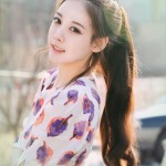 Korean girls hairstyle - High Ponytail
