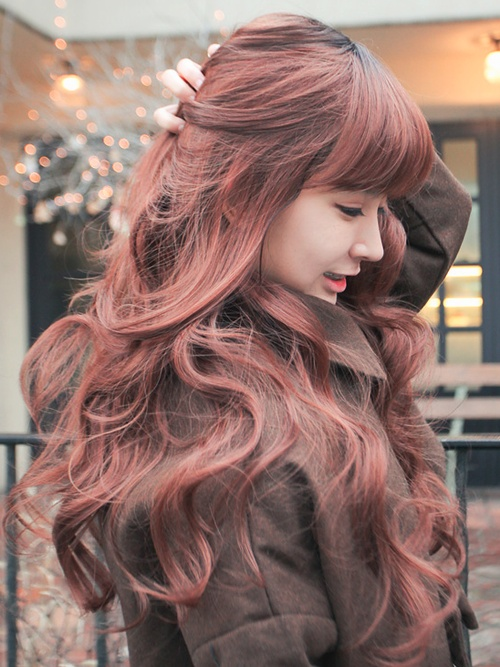 Korean hairstyle girl - The Modern Rapunzel