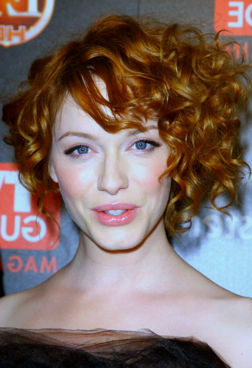 Pictures of short curly hairstyles 4