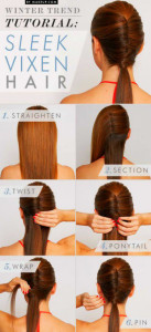 Step By Step Hairdos - Smooth Vixen Hair