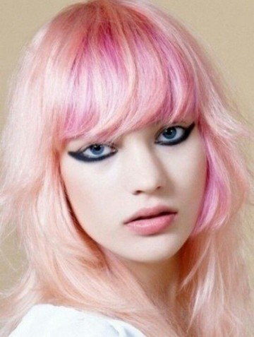 The Colorful Pinks Hairstyles