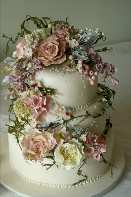 Unique Wedding Cakes Decorations Latest Hair Styles