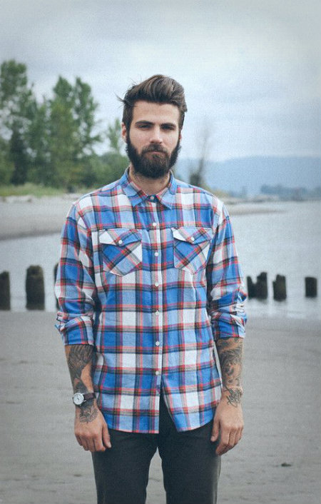 attractive beard styles 2