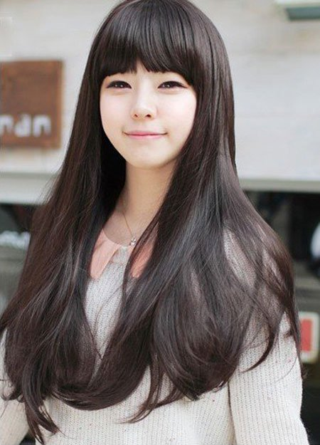 Korean female hairstyle - Baby Doll