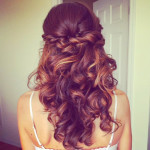 weddingstyles for long hair