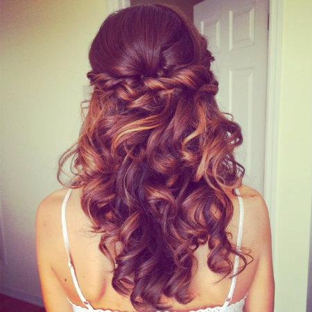 weddingstyles for long hair