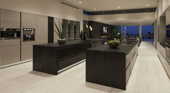 Black Luxury Kitchen Scic With Design Decorating