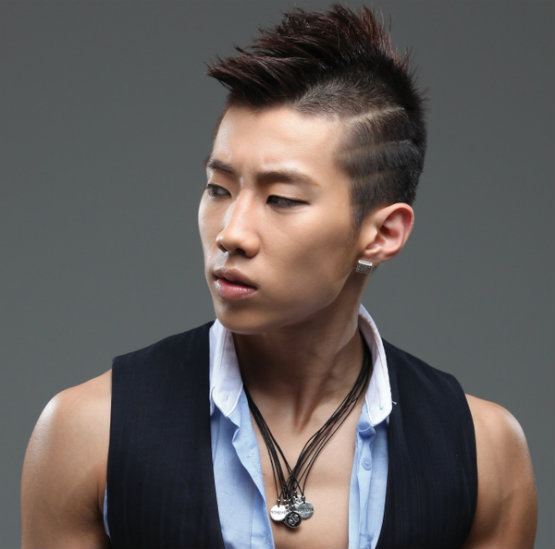 Cool asian korean men hairstyles from Jay Park