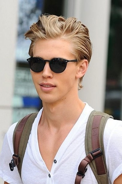 Awesome Cool Haircuts Idea For Boys With Blonde Hair And Black Glasses Hairstyles For Women Draintrainus