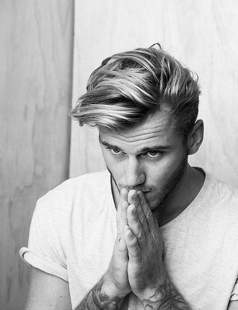 Stupendous Easy Cool Blonde Hairstyles For Teen Guys Or College Student Hairstyles For Women Draintrainus
