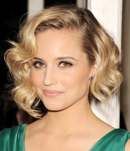 Wavy Bob Hairdos Photo For Older Women