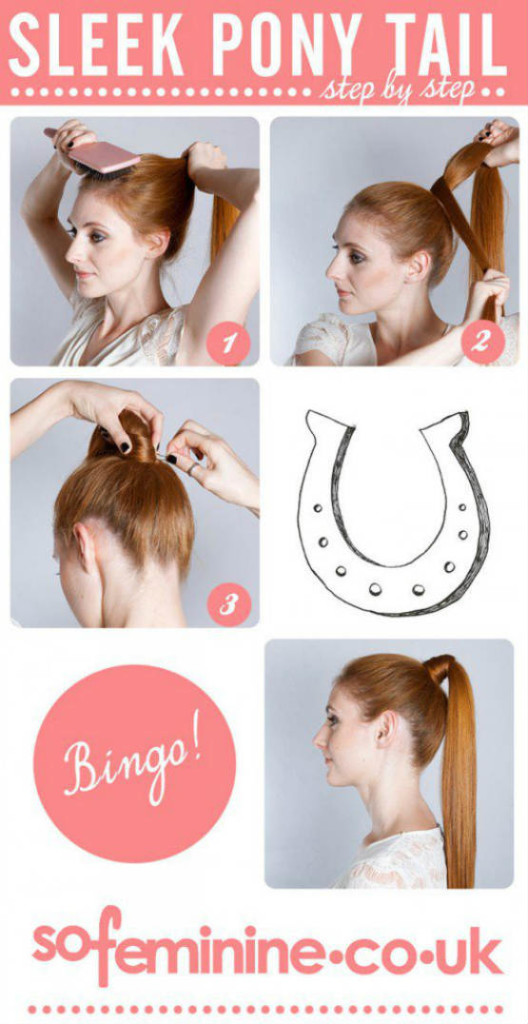 Sleek ponytail hair styles