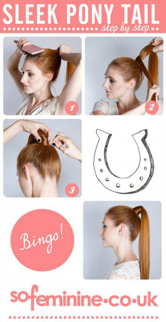 Best Diy Ponytail Hairstyles Tutorial For Long Hair