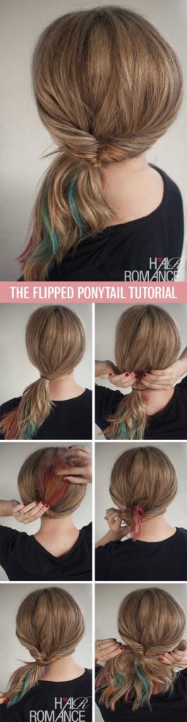 Best 13 DIY Ponytail Hairstyles Tutorial for Long Hair ...