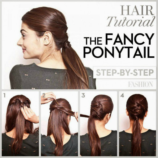 Best DIY Ponytail Hairstyles Tutorial for Long Hair | Latest Hair ...