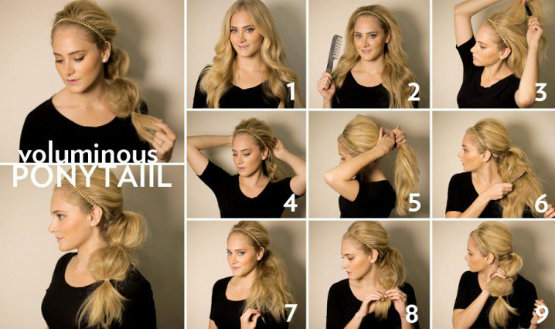 cute ponytail hairstyles for long hair - Latest Hair Styles - Cute ...