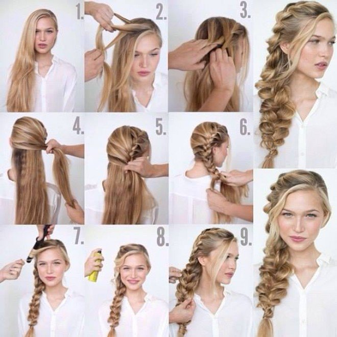 Brilliant How To Braid Long Hairstyles Braids Hairstyle Inspiration Daily Dogsangcom