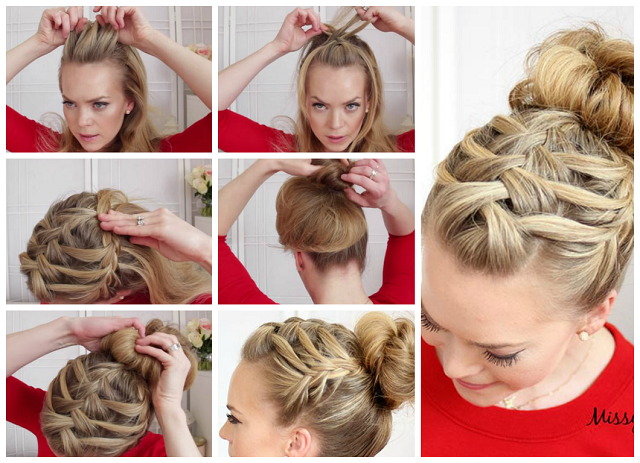 how to braid my own hair-Step-By-Step-DIY-Tutorial-Instructions