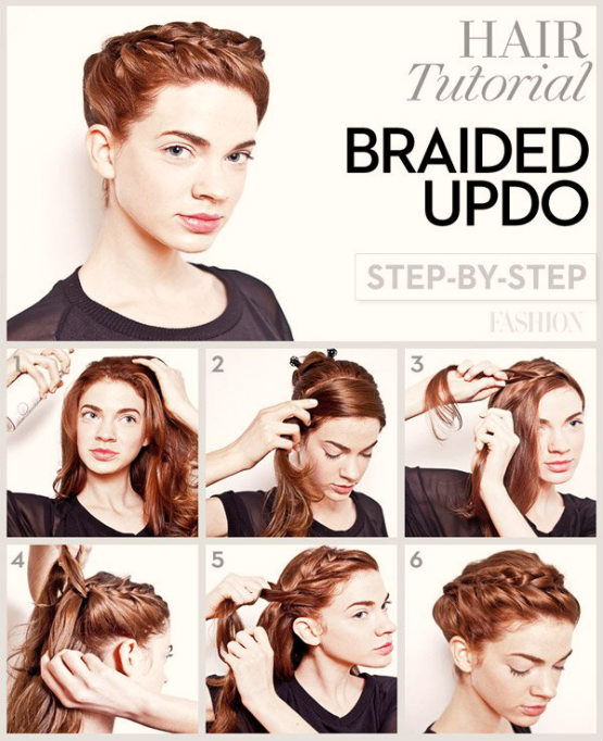 pictures of hair braids turorial