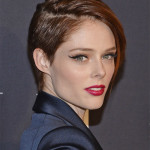 Coco Rocha Fierce Pixie Haircuts that looks very cool for oval faces