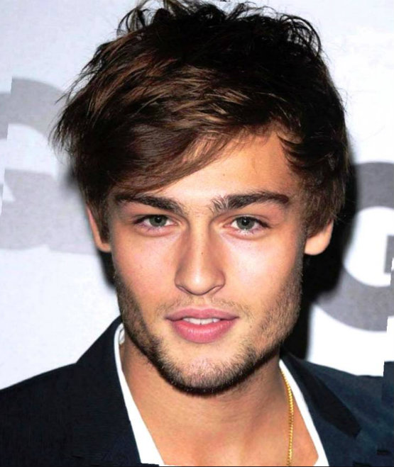 Cool messy fringe hairstyles for the stylish college guys