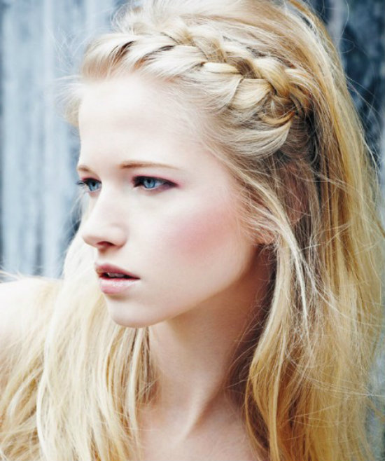 Cute easy to do hairstyles for girl - Boho braid