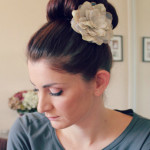 Cute hairstyles for high school- big ballerina bun