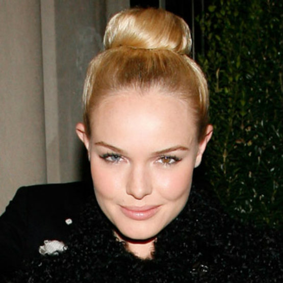 Cute hairstyles for the first day of school -big ballerina bun