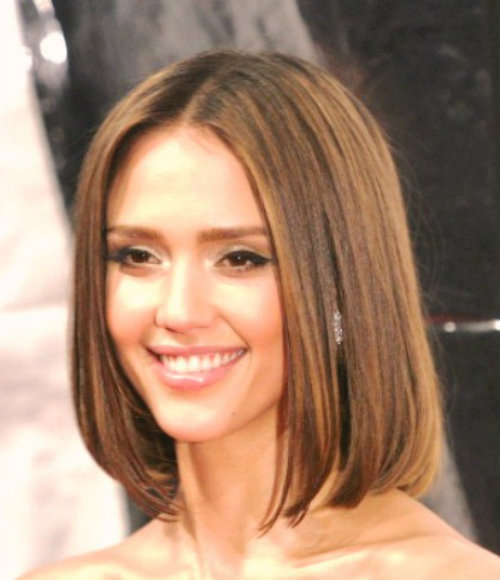 Fresh and stylish medium length bob hairstyles for girl