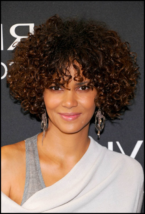 curly hair different styles hairstyle for oval shape three different styles and 2711
