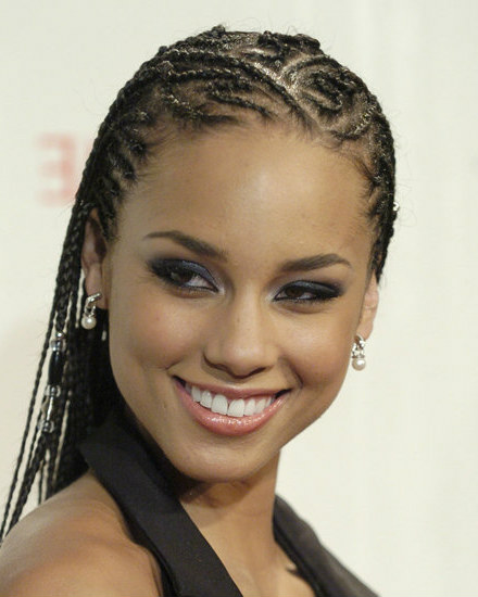 Cool Conrows hairstyles for young black girl