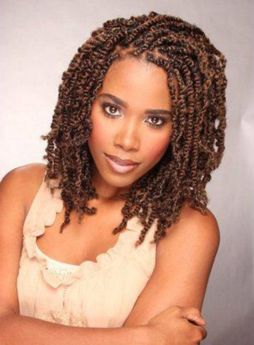 Surprising Double Strand Twist Hairdos For Black People Latest Hair Styles Short Hairstyles Gunalazisus