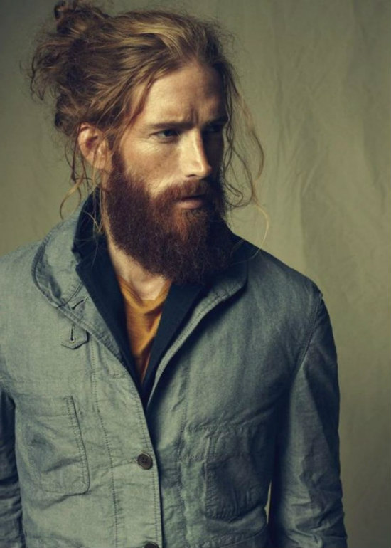 Maintaining hairstyles for long hair for men