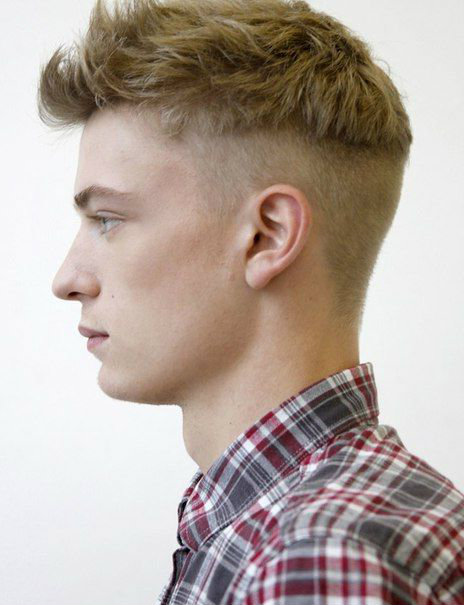 Classy Modern Pompadour with Undercut for Short Hair Men